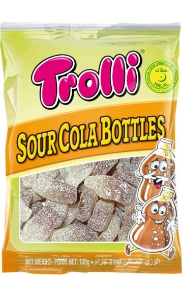 TROLLI - Sour Cola Bottles - 100g