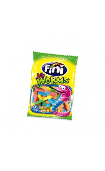 FINI - JELLY WORMS - LUCIOLES - 100g