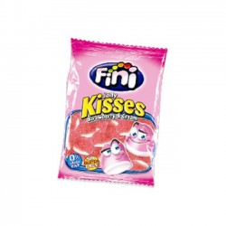 FINI - JELLY KISSES - STRAWBERRY & CREAM - FRAISE ET CRÈME - 100g