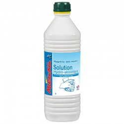 SOLUTION HYDRO-ALCOOLIQUE OMS - 1 Litre