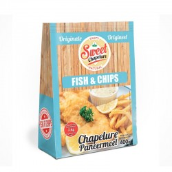 Chapelure Fish and Chips 400g - Sweet